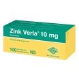 Zink Verla® 10 mg Filmtabletten