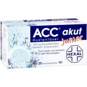 ACC® akut junior Hustenlöser, 100 mg Brausetabletten