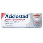 Aciclostad® Creme gegen Lippenherpes