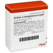 Acidum a-ketoglutaricum-Injeel® forte Ampullen