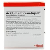 Acidum citricum-Injeel® 1,1 ml