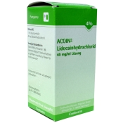 ACOIN®- Lidocainhydrochlorid 40 mg/ml