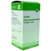 ACOIN®- Lidocainhydrochlorid 40 mg/ml