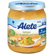 Alete® Gemüse mit Spaghetti & Pute