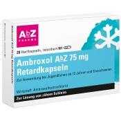 Ambroxol AbZ 75mg Retardkapseln