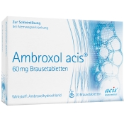 Ambroxol Acis 60mg Brausetabletten