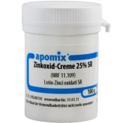 apomix® Zinkoxid-Creme 25% SR