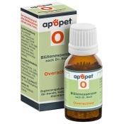 apopet® Blütenessenz O - Overactive