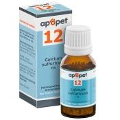apopet® Schüßler-Salz Nr.12 Calcium sulfuricum D6 vet.