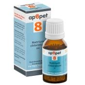 apopet® Schüßler-Salz Nr.8 Natrium chloratum D6 vet.