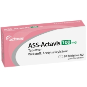 ASS-Actavis 100 mg