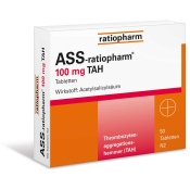 ASS-ratiopharm® 100 mg TAH Tabletten