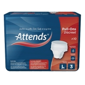 Attends® Pull-Ons Discreet 3 large