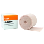 Autosana Kompressionsbinde aus Schaumstoff 12 cm x 2,5 m x 0,4 cm hautfarbend