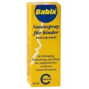 Babix®-Nasenspray für Kinder