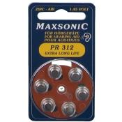 Batterie für Hörgerät MAX PR 312
