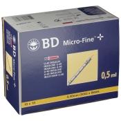 BD Micro FINE™+ U 40 Insulinspritzen 8 mm