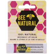 BEE NATURAL Lippenpflegestift Granatapfel