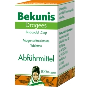 Bekunis Dragees Bisacodyl 5 mg
