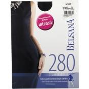 BELSANA 280den Glamour Schenkelstrumpf Größe small Farbe schwarz kurz