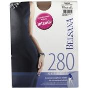 BELSANA 280den Glamour Strumpfhose für Schwangere Größe large Farbe perle lang