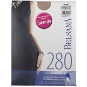 BELSANA 280den Glamour Strumpfhose für Schwangere Größe small Farbe champagner lang