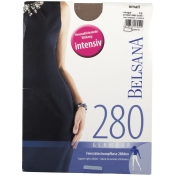BELSANA 280den Glamour Strumpfhose Größe small Farbe nougat lang
