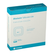 Biatain® Silicone Lite Schaumverband 5x5 cm