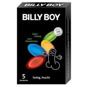 BILLY BOY Kondome farbig feucht (Format einer Zigarettenschachtel)