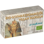 BIO-Schwarzkümmelöl VEGAN Kapseln