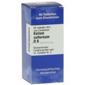 Biochemie 6 Kalium sulfuricum D 6