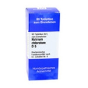 Biochemie 8 Natrium chloratum D 6.