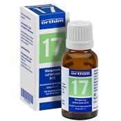 Biochemie Nr. 17 Manganum sulfuricum D 12