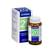 Biochemie Orthim Nr. 20 Kalium-Aluminium sulfuricum D 12