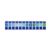 Biochemie Orthim Reiseapotheke 1-12 12 x 100 Tabletten