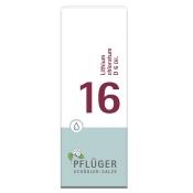 Biochemie Pflüger® 16 Lithium chloratum D6 Tropfen