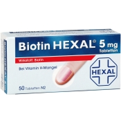 Biotin HEXAL® 5 mg Tabletten