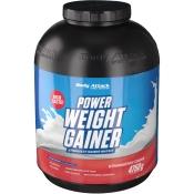 Body Attack Power Weight Gainer Erdbeere