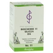 Bombastus Biochemie 11 Silicea D 6 Tabletten