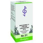 Bombastus Biochemie 21 Zincum chloratum D 12 Tabletten