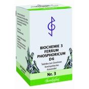 Bombastus Biochemie 3 Ferrum phosphoricum D 6 Tabletten
