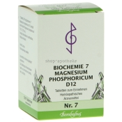 Bombastus Biochemie 7 Magnesium phosphoricum D12 Tabletten