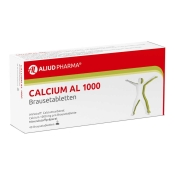 Calcium AL 1000 mg Brausetabletten