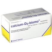 calcium-D3-biomo Kautabletten 500 mg + Vitamin D