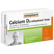 Calcium D3-ratiopharm® forte Brausetabletten