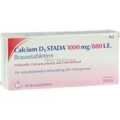 Calcium D3 Stada 1000 mg/880 I.e. Brausetabletten