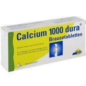 Calcium-dura® 1000 Brausetabletten
