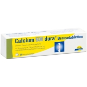 Calcium-dura® 500mg Brausetabletten