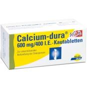 Calcium-dura® Vit D3 600 mg/400 I.E. Kautabletten
