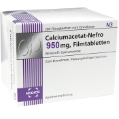 Calciumacetat-Nefro 950 mg